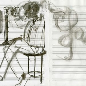 4_Jazz!_31x47cm_Charcoal-on-paper_2015